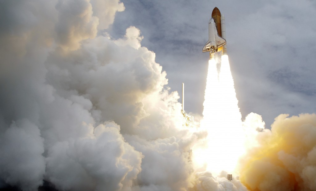 FILE - In this Friday, July 8, 2011 file photo, the space shuttle Atlantis lifts off from the Kennedy Space Center in Cape Canaveral, Fla. Atlantis wa...