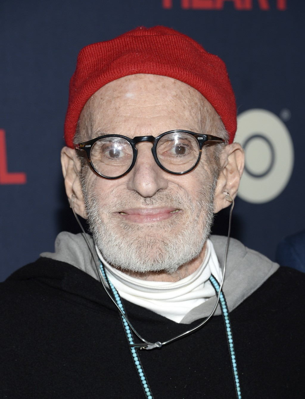 """FILE - This May 12, 2014 file photo shows playwright Larry Kramer at the premiere of HBO Films' """"The Normal Heart"""" in New York. Kramer, the playwright..."""
