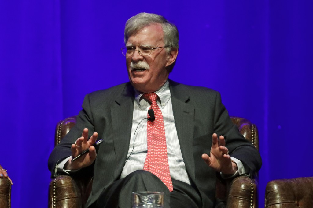 Bolton's lawyer says White House believes upcoming book has classified info