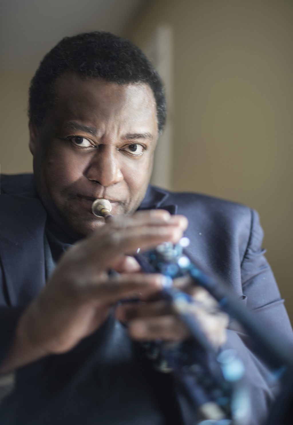 In this photo provided by HighNote Records, jazz trumpeter Wallace Roney poses for a photo. The coronavirus has claimed the lives of artists and artis...