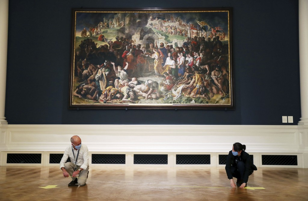 The National Gallery of Ireland in Dublin prepares for the reopening of the Millennium Wing showing European art 1850–1950, as part of the gallery's p...