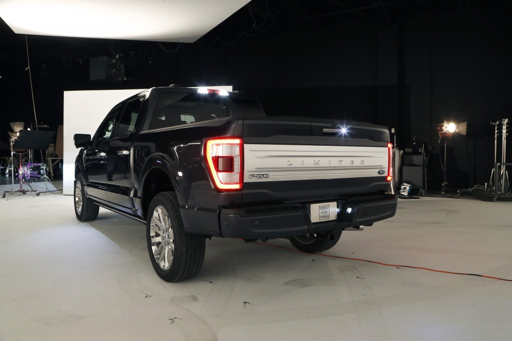 In a photo from, Wednesday, June 24, 2020, the new 2021 Ford F-150 truck is photographed in Ferndale, Mich. Six years ago, Ford bet big on the top-sel...