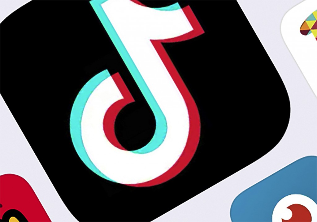 FILE - This Feb. 25, 2020, photo shows the icon for TikTok taken in New York. TikTok said Tuesday, July 7, 2020, it will stop operations in Hong Kong,...