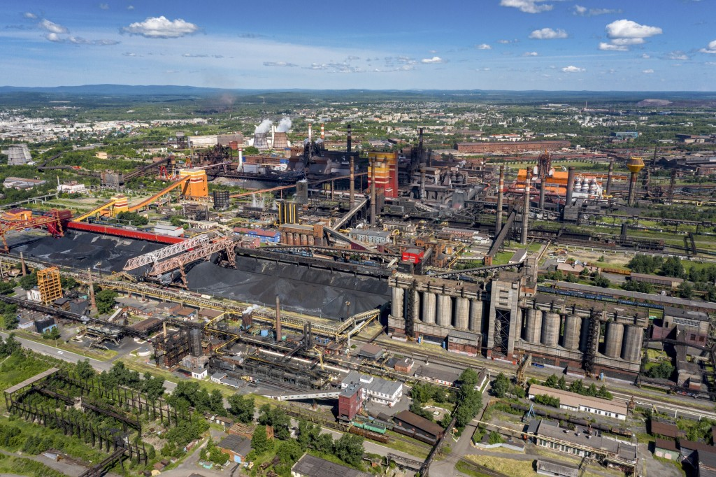 This June 6, 2020, photo, shows the industrial area of Nizhny Tagil, some 1,400 kilometers (870 miles) east of Moscow, Russia. In 2011, the city becam...
