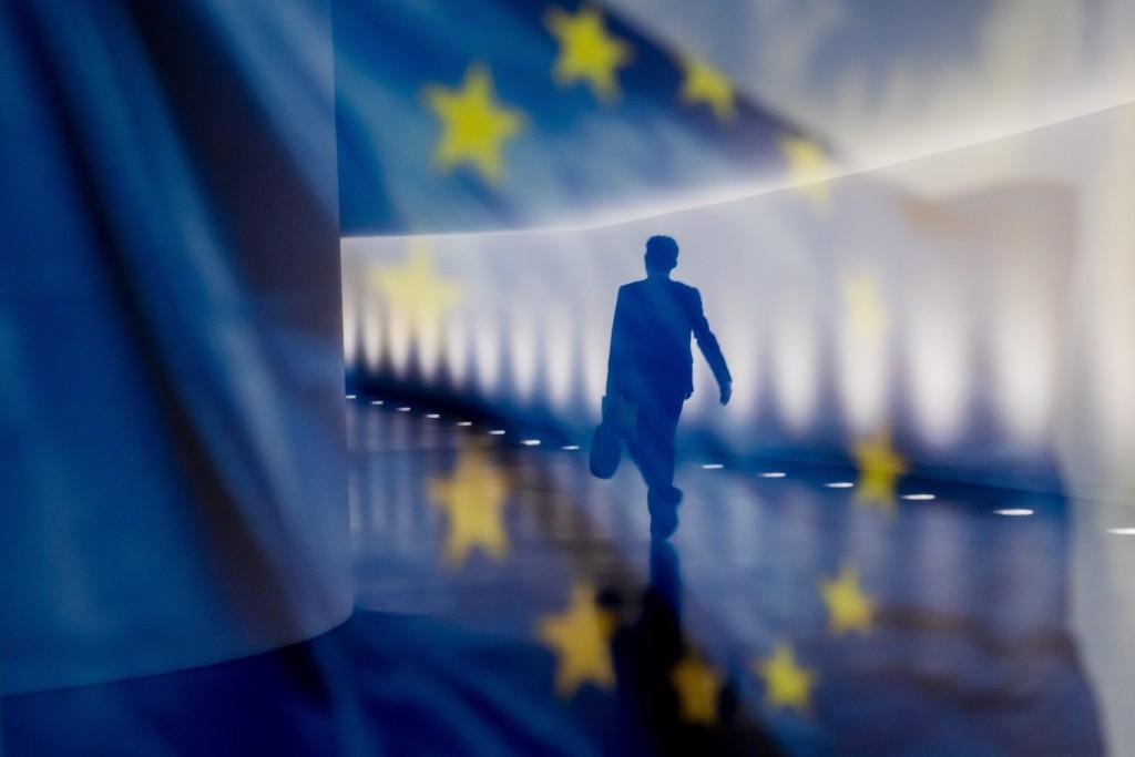 歐盟旗幟(圖/美聯社)