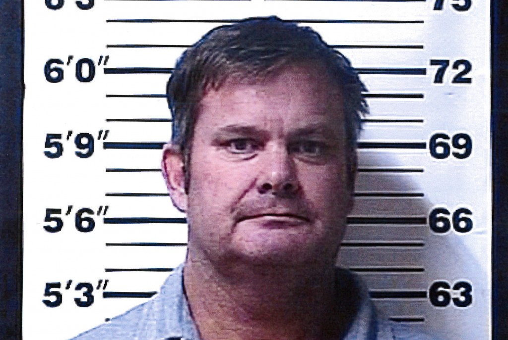 FILE - This file booking photo provided by the Rexburg (Idaho) Police Department shows Chad Daybell, who was arrested Tuesday, June 9, 2020, on suspic...