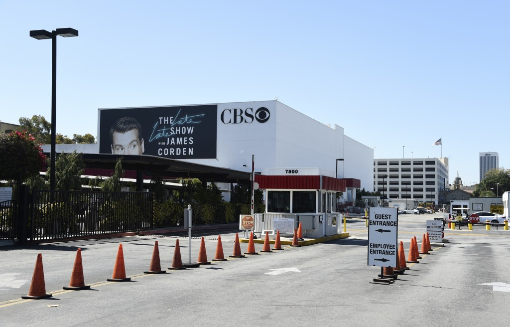 """The entrance to CBS Television City studio is pictured, Friday, July 3, 2020, in Los Angeles. The CBS soap opera """"The Bold and the Beautiful"""" resumes ..."""