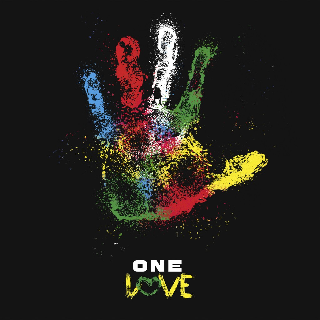"This cover image released by Tuff Gong International and Amplified Music shows art for the single ""One Love.""  The family of reggae legend Bob Marley ..."