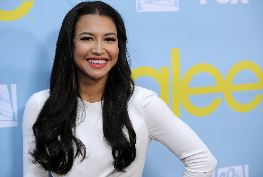 "FILE - Naya Rivera, a cast member in the television series ""Glee,"" poses at a screening and Q&A for the show, at the Academy of Television Arts and Sc..."