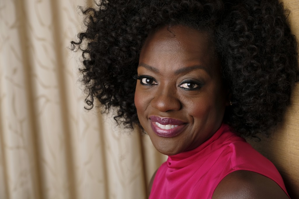 FILE - In this Sept. 9, 2018, file photo, Viola Davis poses for a portrait at the Ritz-Carlton Hotel during the Toronto International Film Festival in...