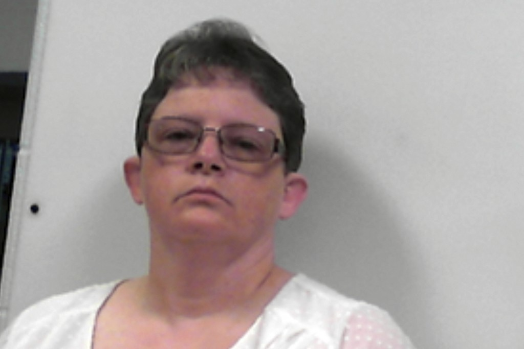 This photo released Tuesday, July 14, 2020, by the West Virginia Regional Jail and Correctional Facility Authority shows Reta Mays, a former nursing a...