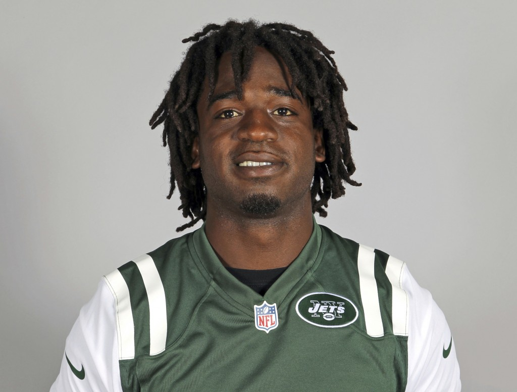 FILE - This 2013 file photo shows New York Jets running back Joe McKnight. An appeals court granted a Louisiana man a new trial because he was convict...
