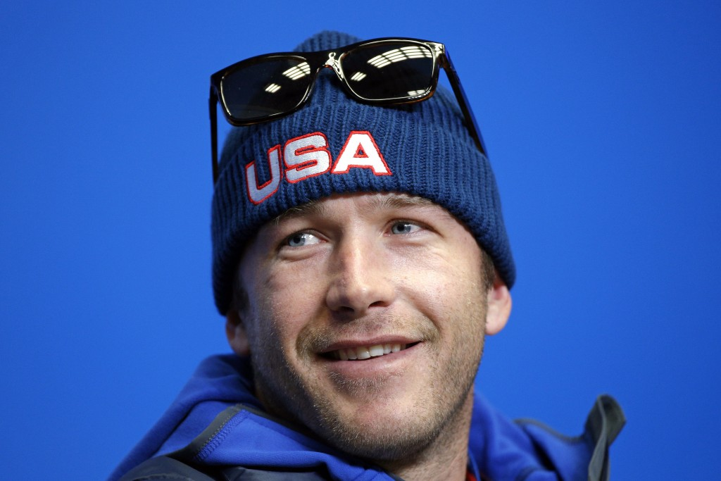 FILE - This Feb. 6, 2014, file photo shows Bode Miller during the U.S. ski team's news conference at the Gorki media center at the Sochi 2014 Winter O...