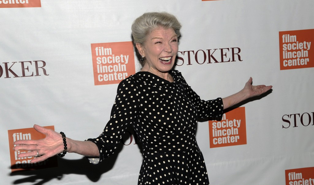 "FILE - In this Wednesday, Feb. 27, 2013 file photo, Actress Phyllis Somerville attends the premiere of ""Stoker"" at Walter Reade Theatre in New York. P..."