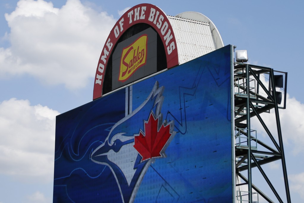The Toronto Blue Jays will play their 2020 home games at Sahlen Field, their Triple-A affiliate, the team announced, Friday, July 24, 2020, in Buffalo...