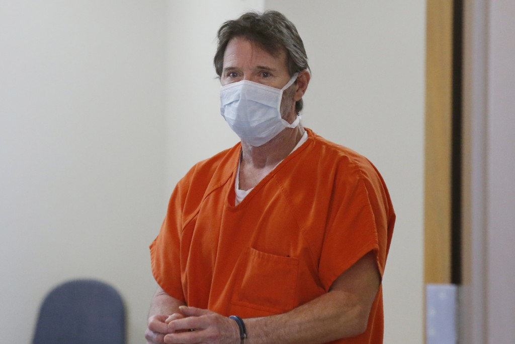 Max Townsend, the man accused of killing three Moore High School cross county runners and injuring four others in alleged hit and run crash, arrives f...