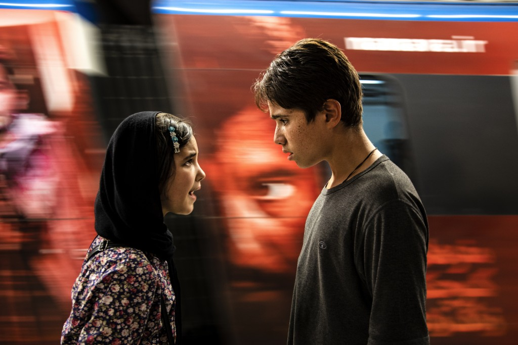 This image released by the Venice Fil Festival shows a scene from the Iranian movie Sun Children, in competition at the 77th Venice Film Festival, tha...
