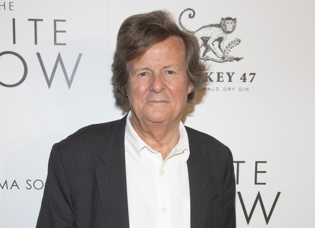 """FILE -David Hare attends a special screening of """"The White Crow"""" in New York on April 22, 2019. Hare, creator of the upcoming PBS political drama """"Roa..."""