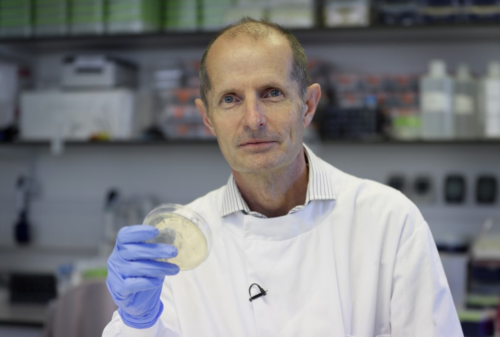Professor Robin Shattock the Head of Mucosal Infection and Immunity within the Department of Medicine at Imperial College in London, Thursday, July 30...