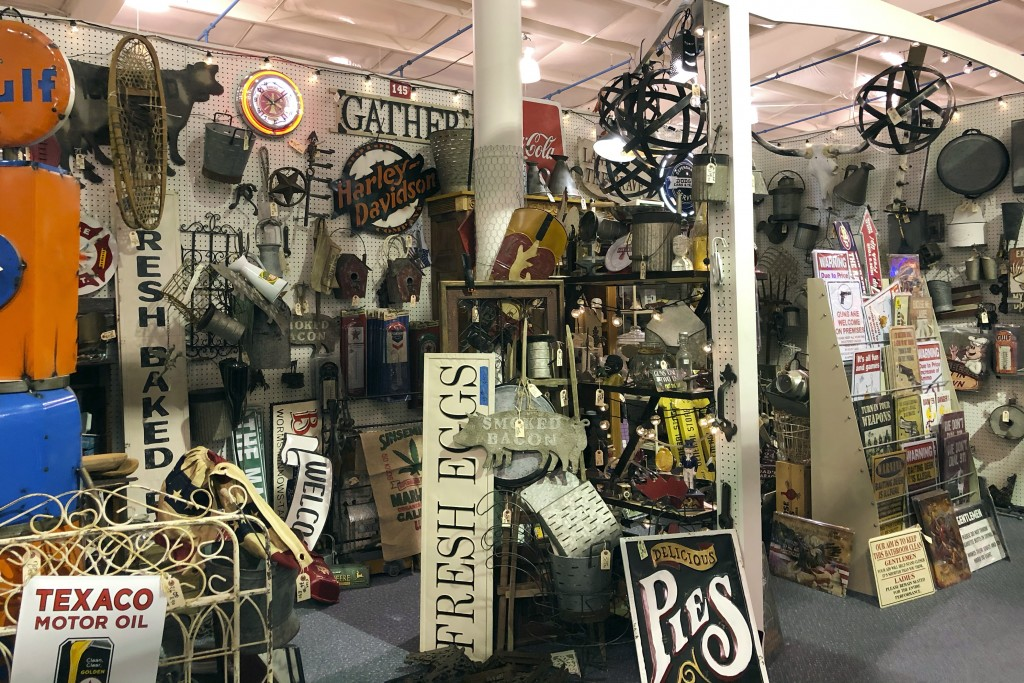 Items are for sale at Exit 76 Antique Mall in Edinburgh, Indiana, Tuesday, July 21, 2020. U.S. Rep. Greg Pence. Pence, the older brother of Vice Presi...
