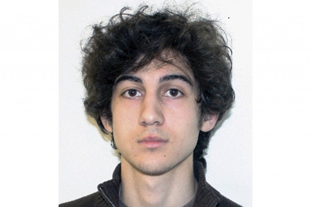 FILE - This file photo released April 19, 2013, by the Federal Bureau of Investigation shows Dzhokhar Tsarnaev, convicted and sentenced to death for c...
