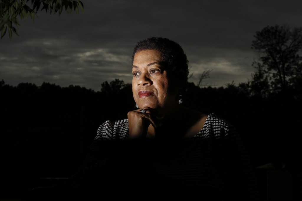 Bev Jackson, chair of the Democratic Party's Cobb County African American caucus, poses for a portrait on Friday, July 24, 2020, in Marietta, Ga. Jack...