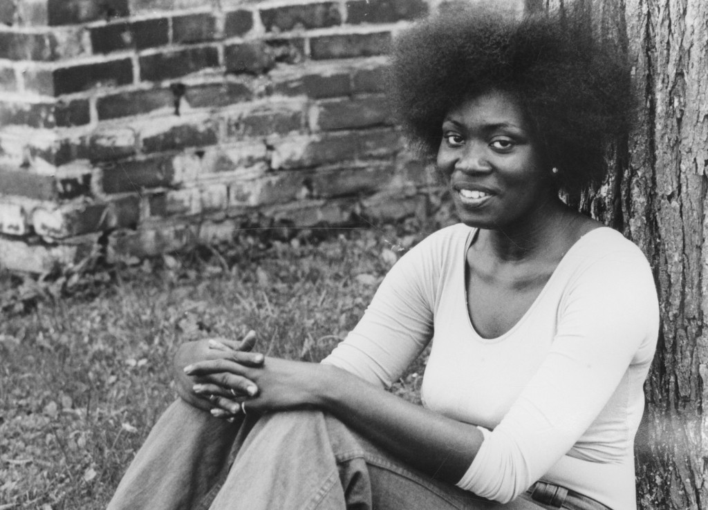 Margaret Holloway is seen in this 1974 photo provided by Bennington College in Bennington, VT. Holloway, a woman who became famous for her gritty and ...