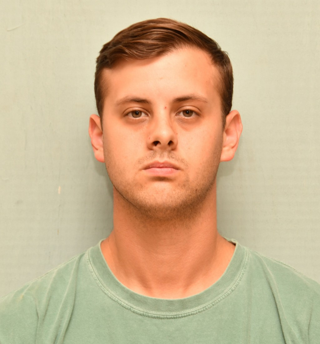 This jail booking photo from the Screven County Sheriff's Office show former Georgia state trooper Jacob Thompson, who was charged with felony murder ...