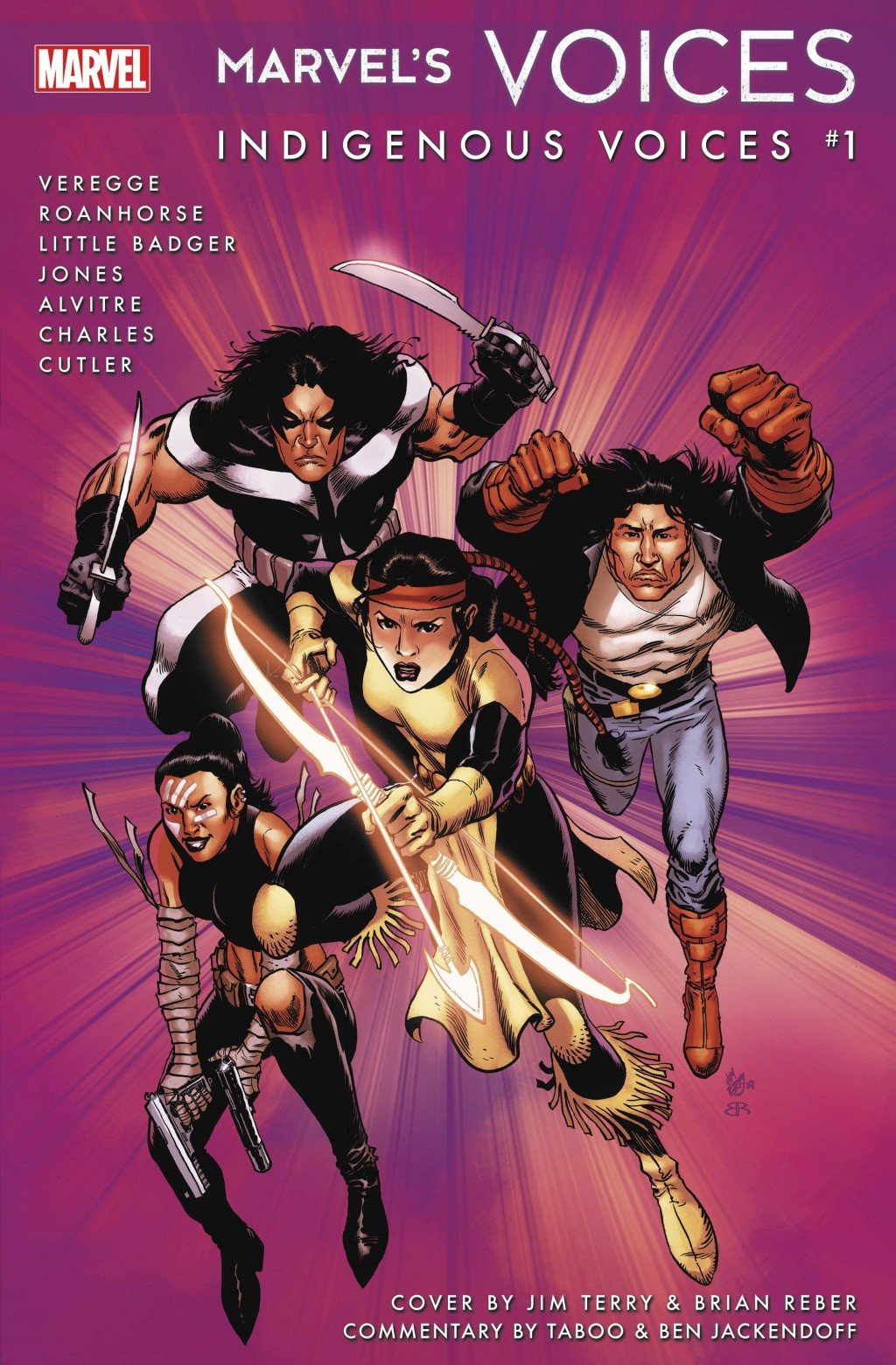 """This image provided by Marvel Comics shows the cover art for """"Marvel Voices: Indigenous Voices #1,"""" an anthology that will revisit some of its Native ..."""