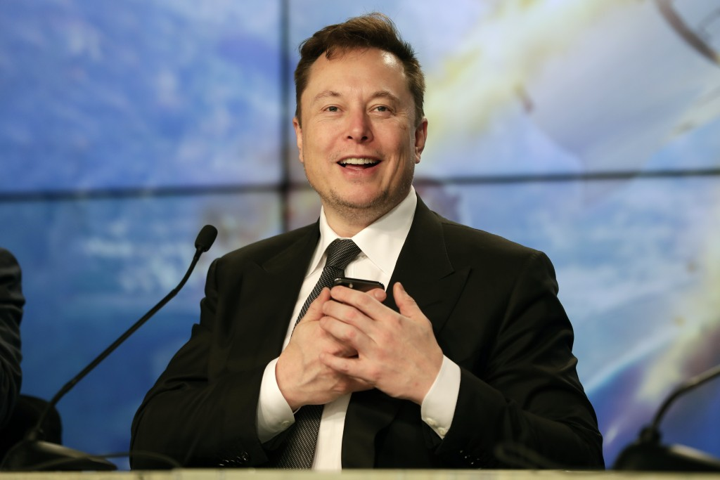 TeslaCEOElon Musk (AP file photo)