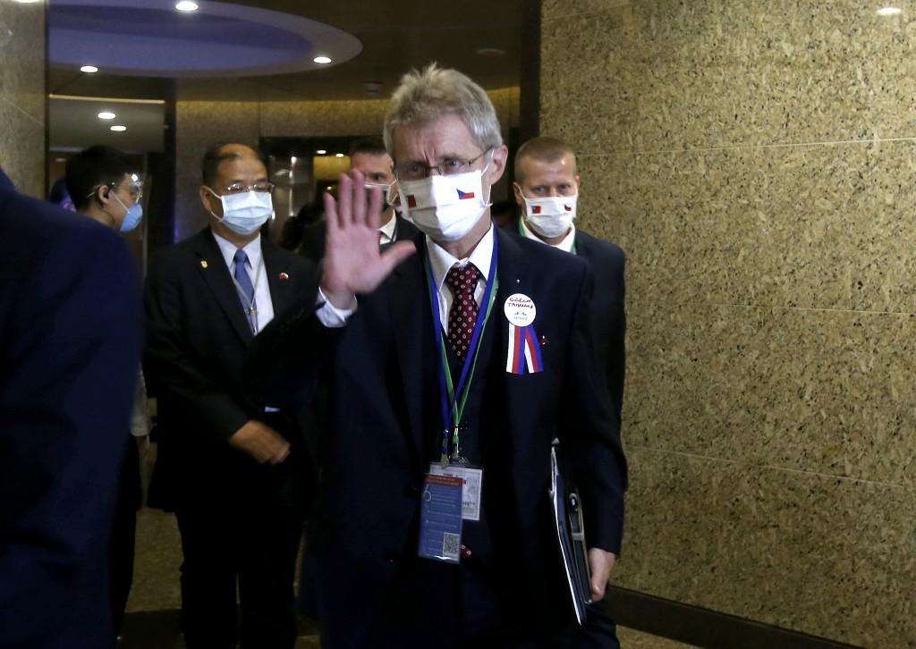 Czech Senate President Milos Vystrcil.