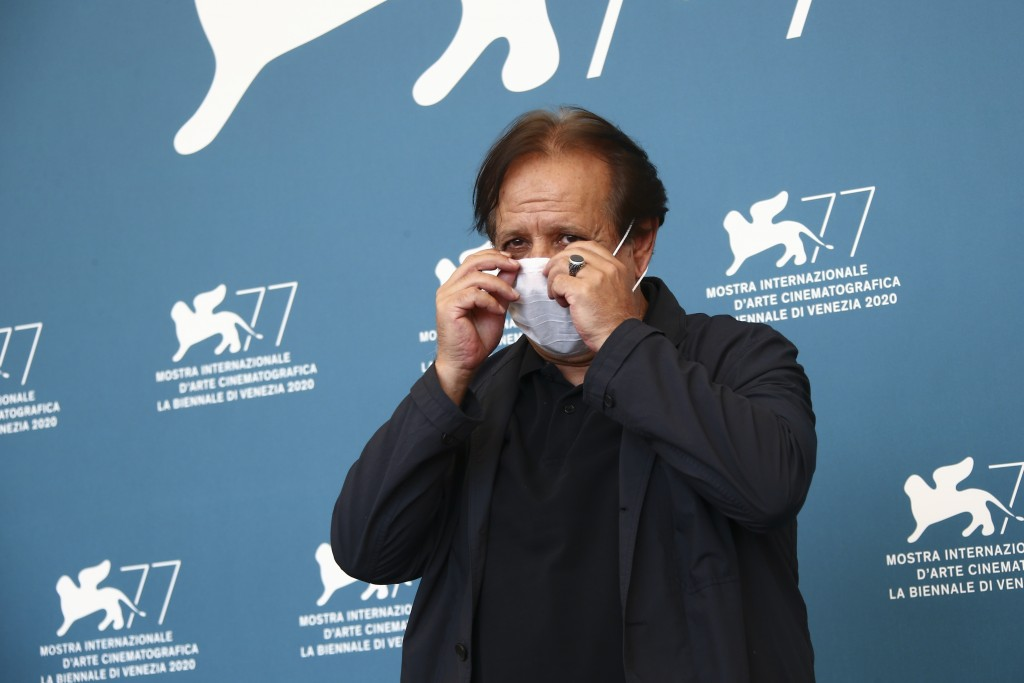 Director Majid Majidi poses for photographers at the photo call for the film 'Khorshid (Sun Children' during the 77th edition of the Venice Film Festi...