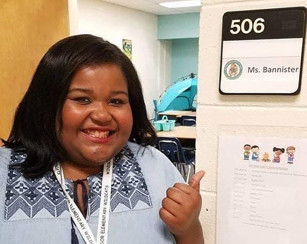 "This undated photo provided by the Richland School District 2 in South Carolina shows teacher Demetria ""Demi"" Bannister. Bannister died three days aft..."