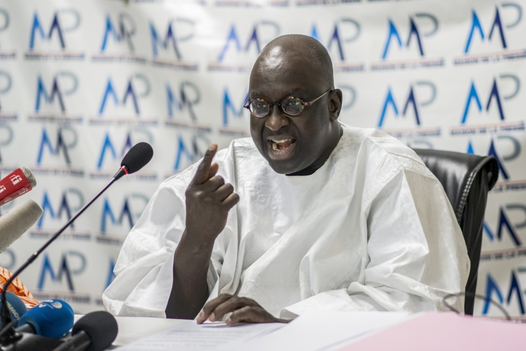 Papa Massata Diack, son of Lamine Diack the former president of the International Association of Athletics Federations (IAAF) now known as World Athle...