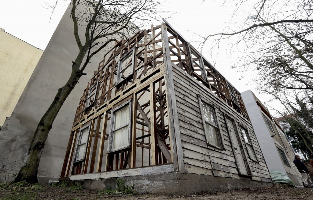 FILE - This Dec. 12, 2017 file photo shows the rebuilt house of the civil rights activist Rosa Parks in Berlin, Germany. The rundown, paint-chipped De...
