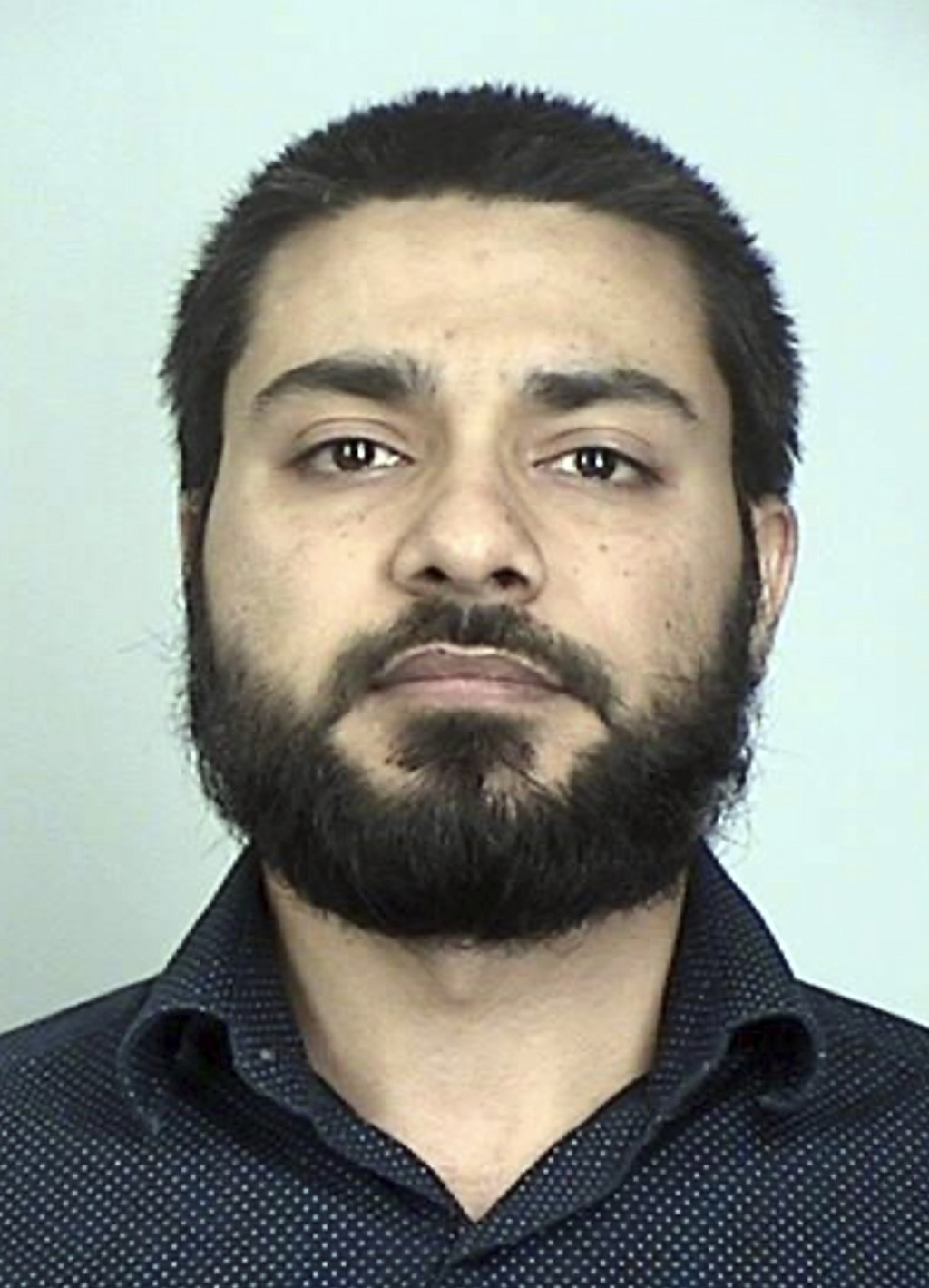 This booking photo provided by the Sherburne County Sheriff shows Muhammad Masood.  A psychological exam was ordered Wednesday, Sept. 16, 2020, for Ma...
