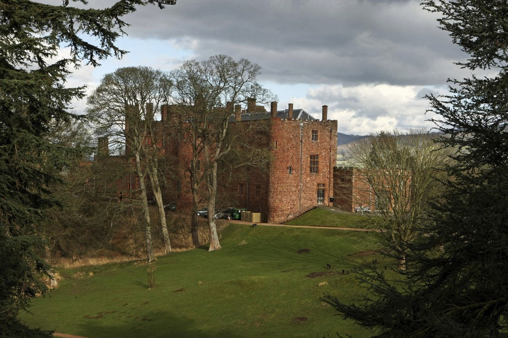 FILE - This March 4, 2009 file photo shows Powis Castle in Welshpool, Wales, which is cared for by the National Trust. Britain's National Trust which ...