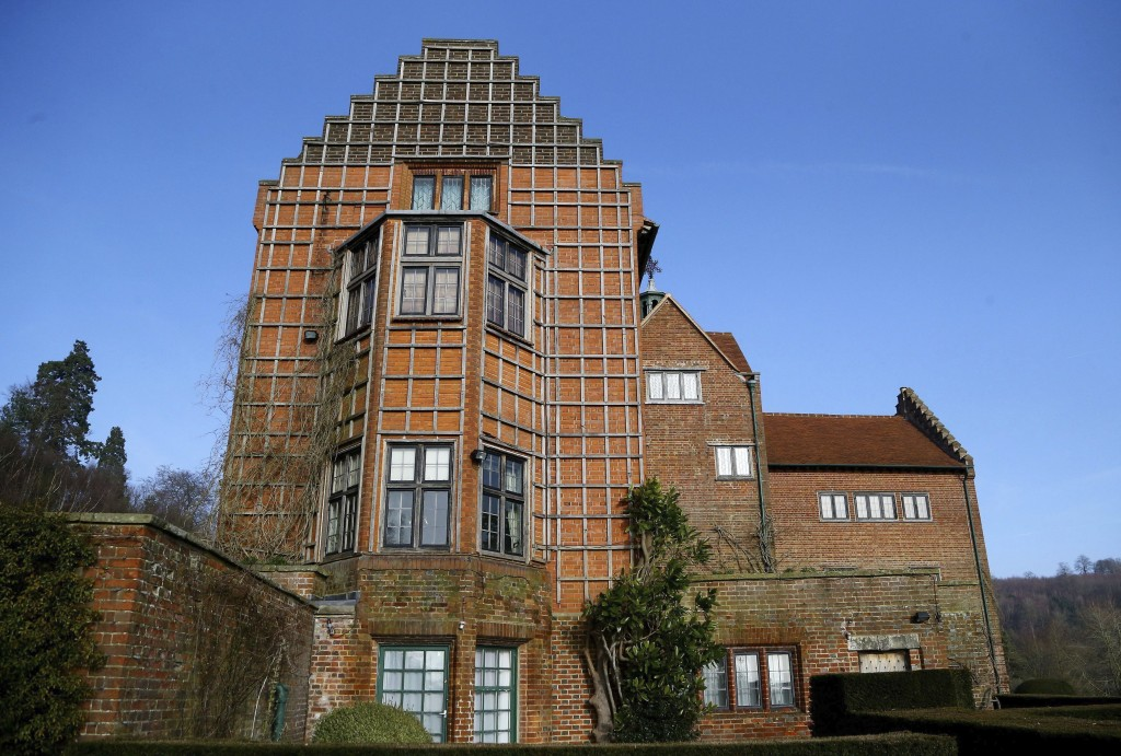 FILE - This Jan. 23, 2015 file photo shows Winston Churchill's family home at Chartwell, England, which is cared for by the National Trust. Britain's ...
