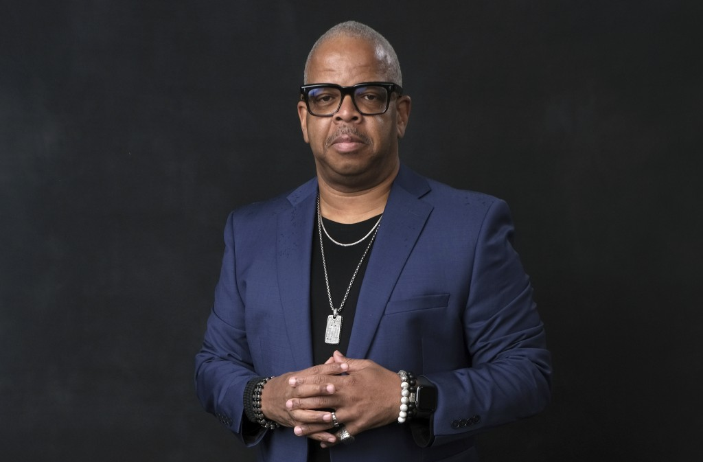 FILE - Terence Blanchard poses for a portrait at the 91st Academy Awards Nominees Luncheon on Feb. 4, 2019, in Beverly Hills, Calif. The Metropolitan ...