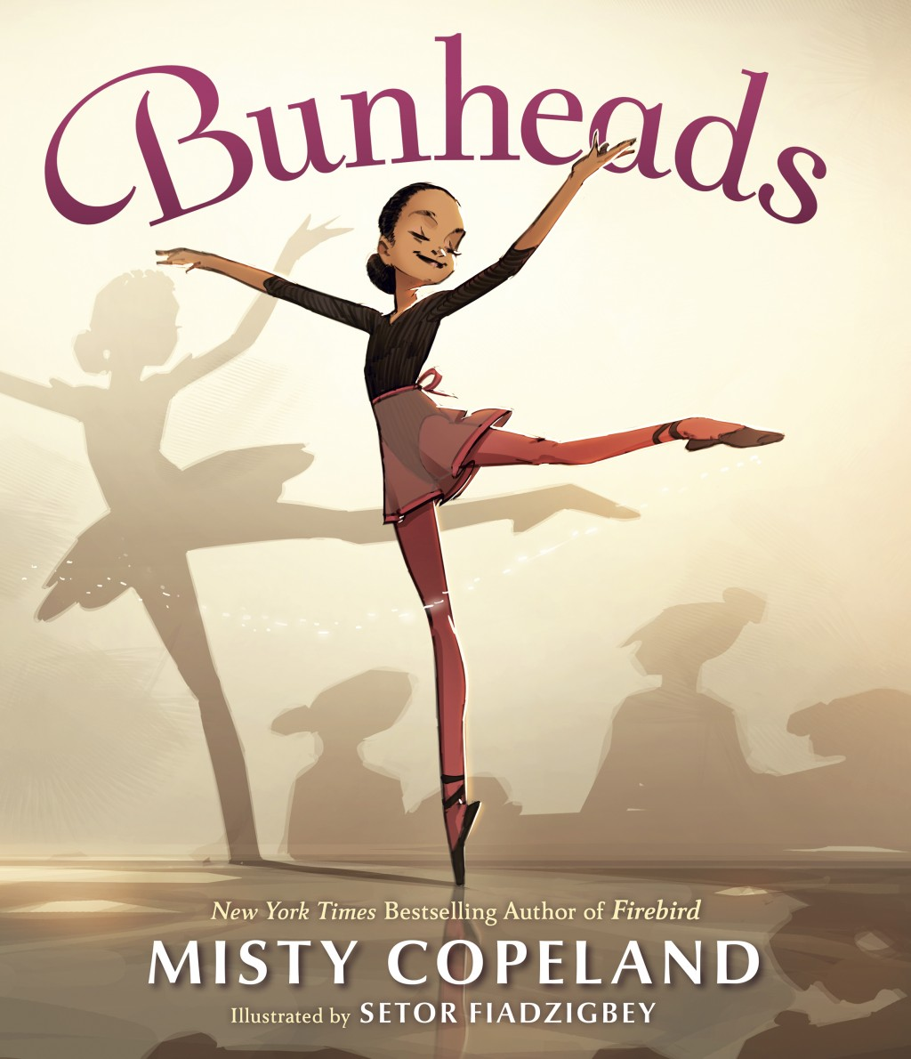 """This cover image released by G. P. Putnam's Sons Books for Young Readers shows """"Bunheads"""" by Misty Copeland with illustrations by Setor Fiadzigbey. Co..."""