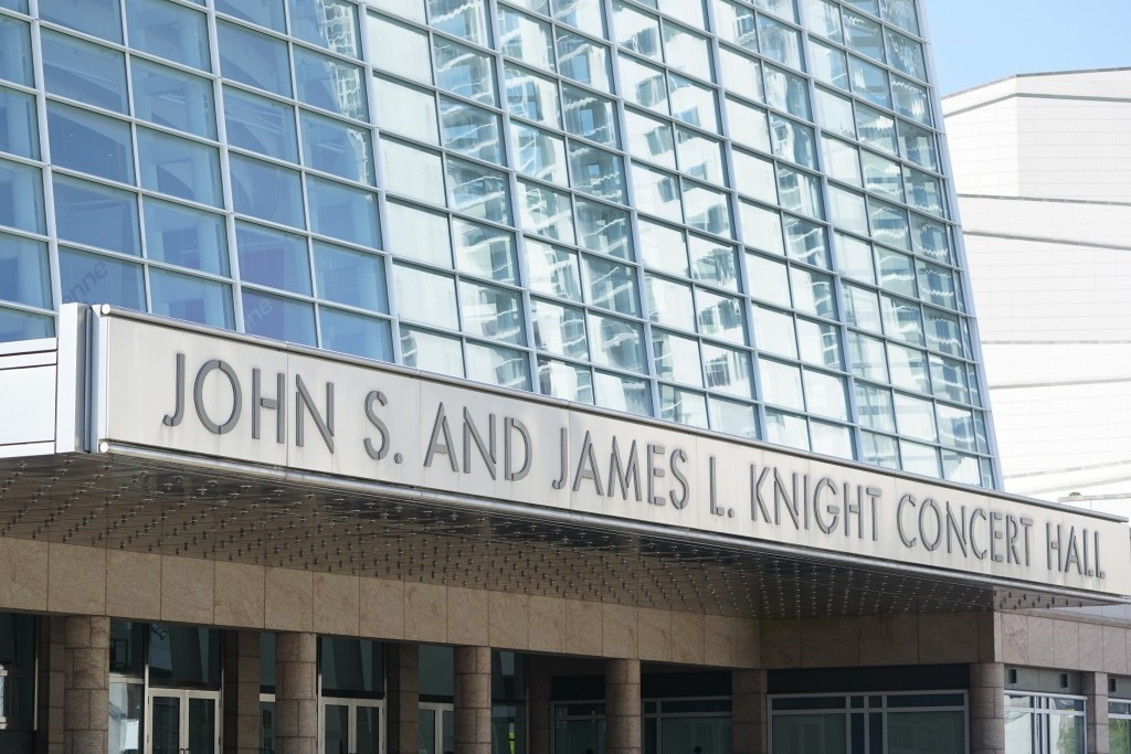 The John S. and James L. Knight Concert Hall at the Adrienne Arsht Center for the Performing Arts of Miami-Dade County is shown, Thursday, Oct. 8, 202...
