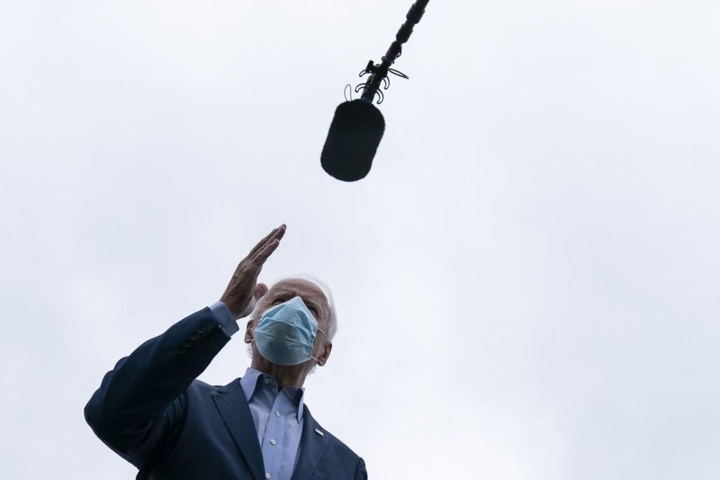 民主黨籍美國總統候選人拜登(Joe Bide)。(美聯社圖片)