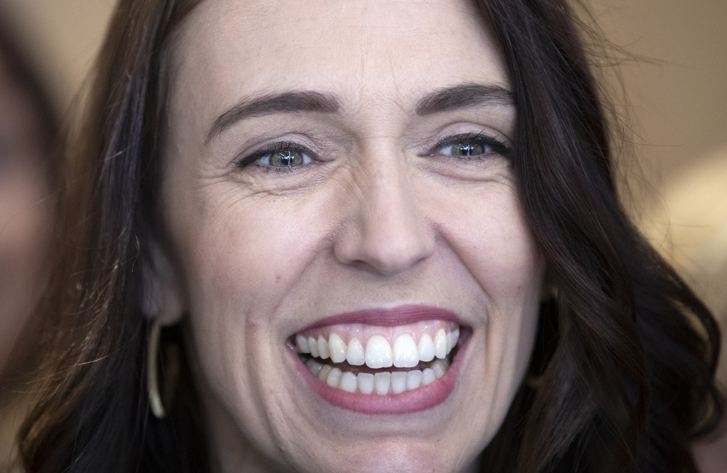 New Zealand Prime Minister Jacinda Ardern answers questions during a press conference in Christchurch, New Zealand, Wednesday, Oct. 14, 2020. Opinion ...