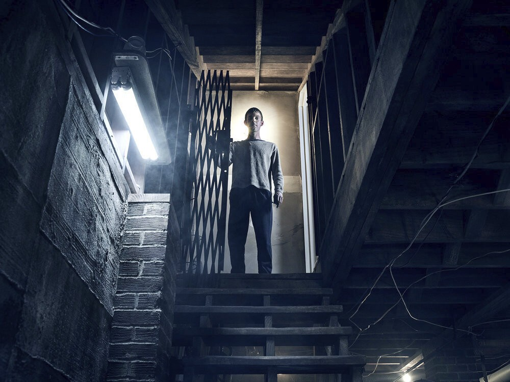 "This image released by Peacock shows Harry Treadaway from the series ""Mr. Mercedes,"" based on a Stephen King trilogy. The first two seasons of ""Mr. Me..."