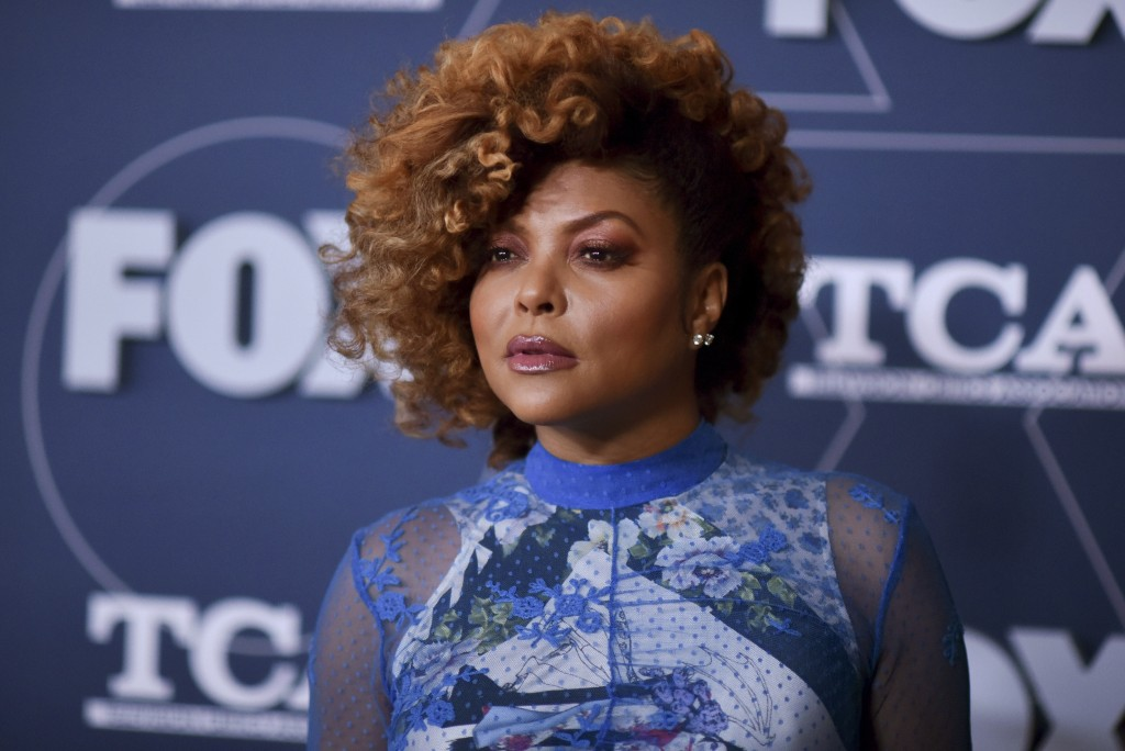FILE - Taraji P. Henson attends the FOX All Star party at the Television Critics Association Winter press tour on Jan. 7, 2020, in Pasadena, Calif. He...