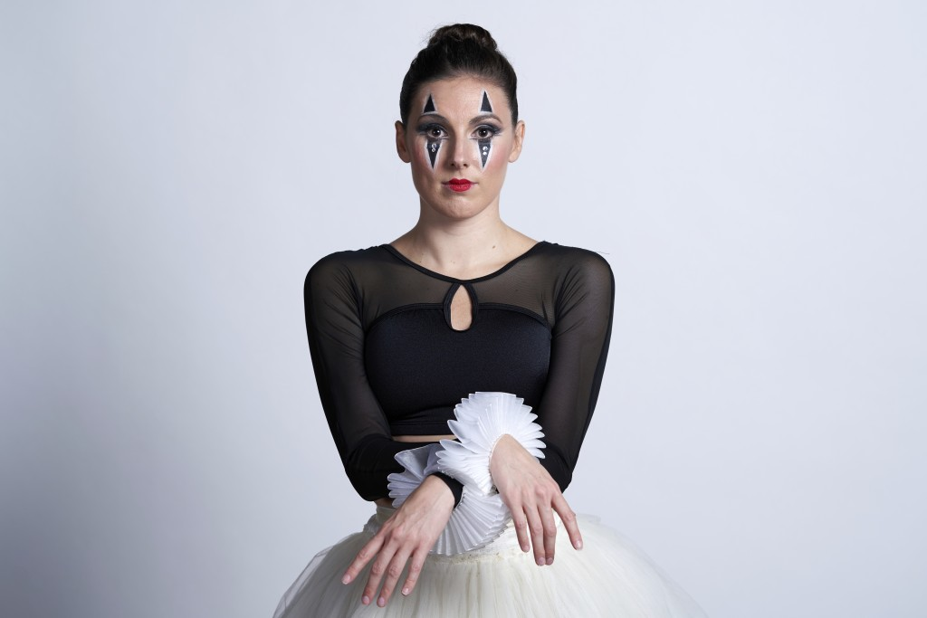 This Sept. 24, 2020 photo released by CLI Studios, Inc. shows ballet dancer Tiler Peck during a portrait session. Peck, a principal dancer with New Yo...