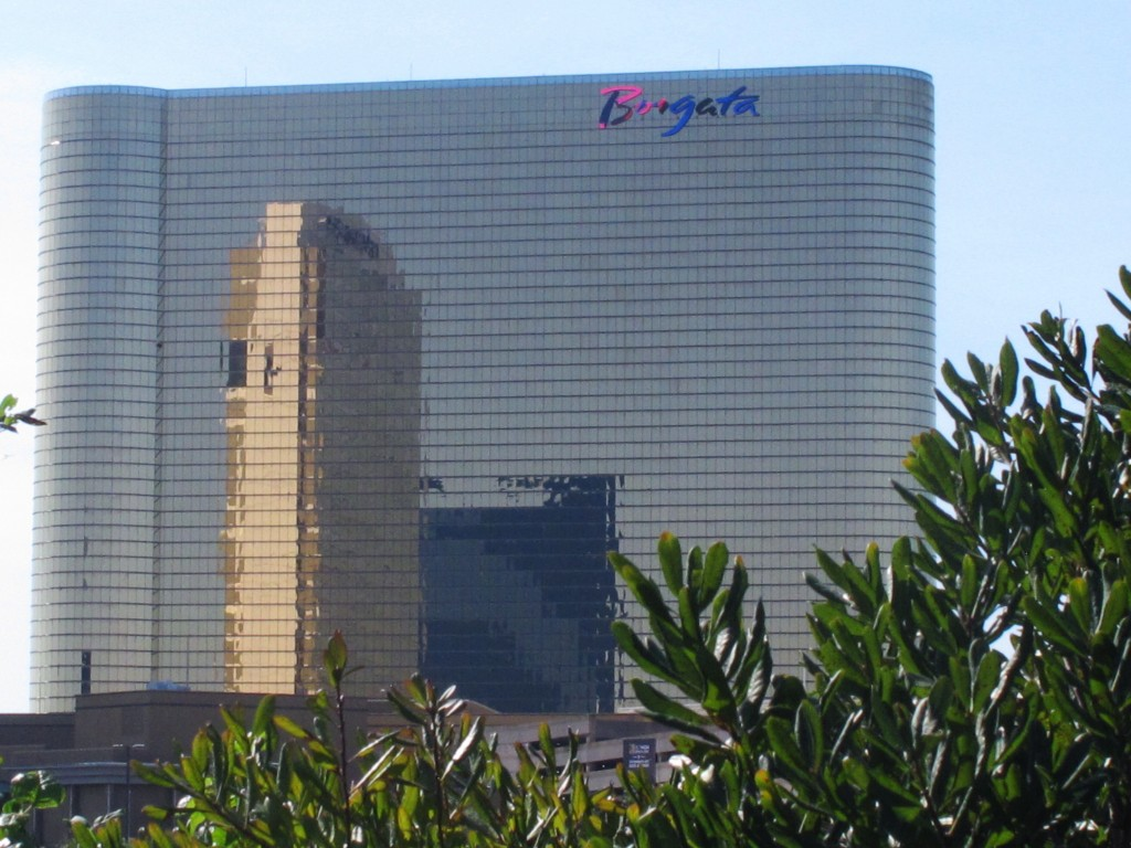 This Oct. 1, 2020 photo shows the exterior of the Borgata casino in Atlantic City, N.J. On Oct. 13, 2020, a federal judge in Nevada ruled that a foren...