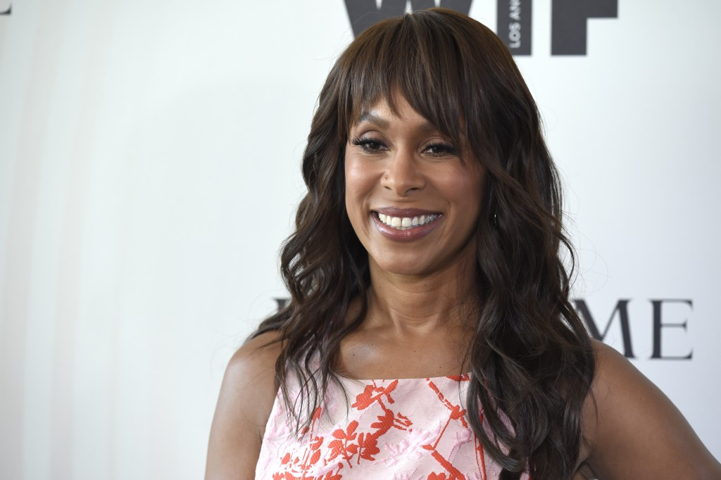 FILE - In this June 13, 2018 file photo, Channing Dungey arrives at the Women In Film Crystal and Lucy Awards in Beverly Hills, Calif.  Dungey has bee...