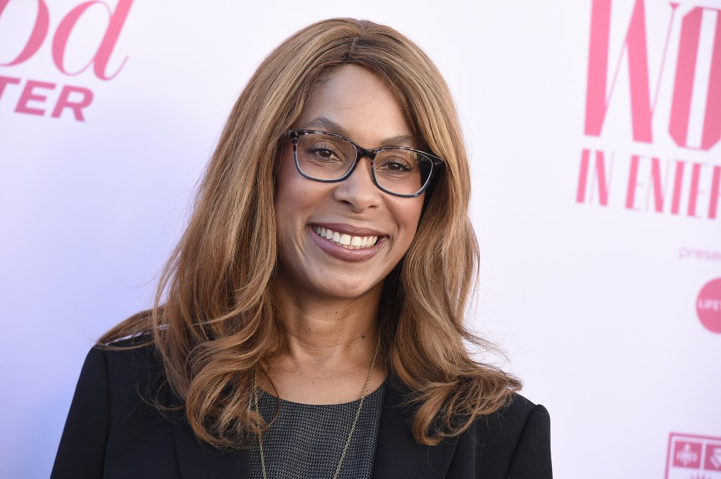 FILE - This Dec. 11, 2019 file photo shows Channing Dungey at The Hollywood Reporter's Women in Entertainment Breakfast Gala in Los Angeles. Dungey ha...