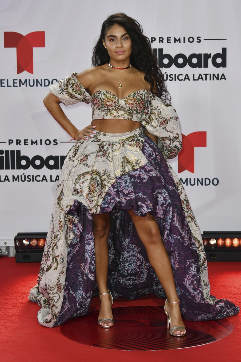 Jessie Reyez arrives at the Billboard Latin Music Awards on Wednesday, Oct. 21, 2020, at the BB&T Center in Sunrise, Fla. (Jim Rassol/Invision/AP)